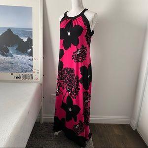 💖 London Times Maxi Dress Size 12